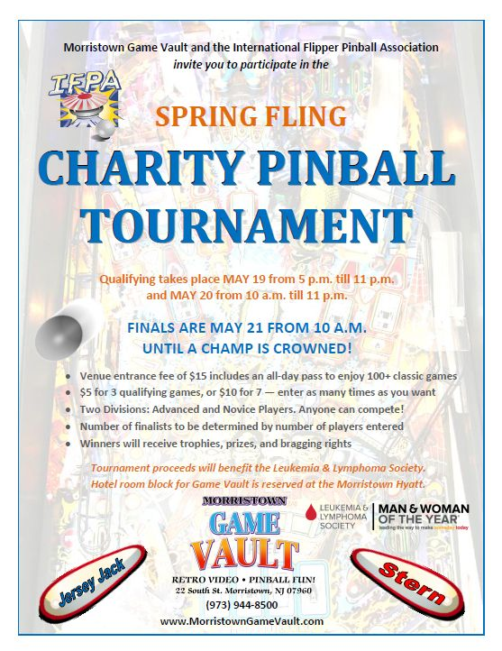 Morristown Game Vault – Spring Fling Tournament