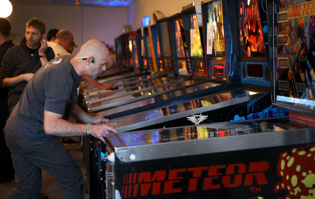 Play pinball: top players in the state compete at Richmond Pinball Collective