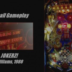 AKM Pinball plays JOKERZ!
