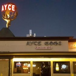 The world-famous KROQ at AYCE Gogi
