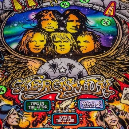 Aerosmith Pinball Launch Parties!