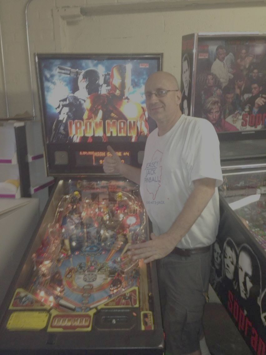Self-described pinball addict