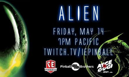 Alien Pinball Stream with IEPinball