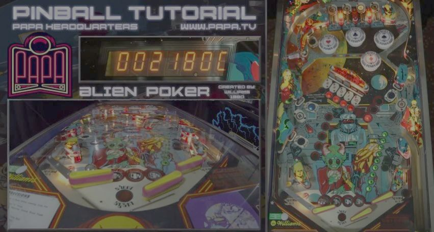 Alien Poker Pinball Tutorial