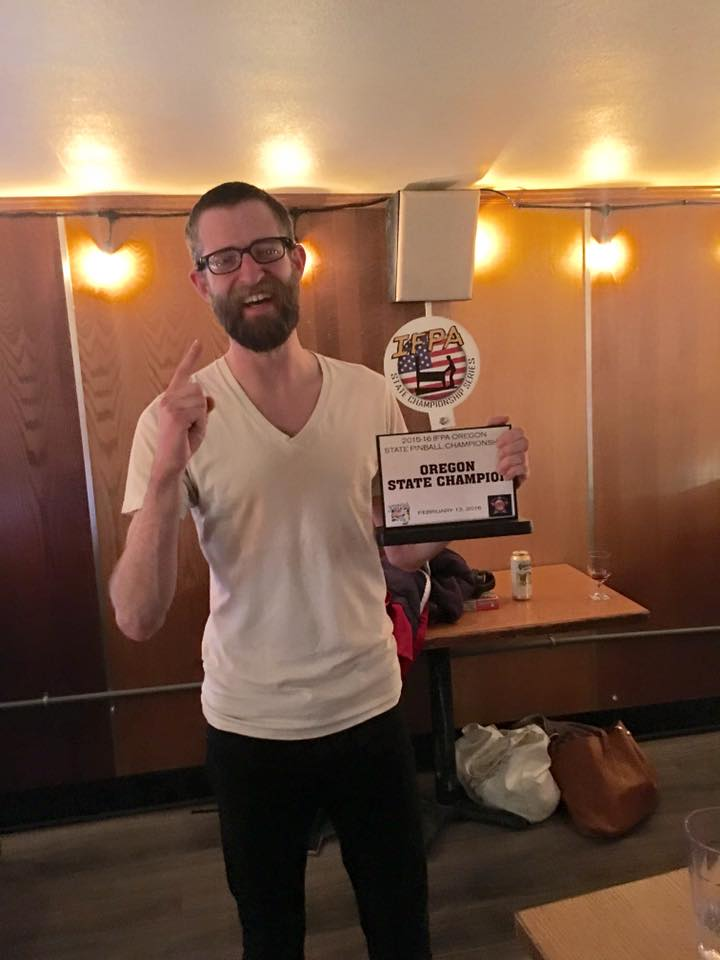 Andy Cobb - Oregon State Pinball Champion