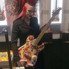 Custom Pinball Fender Telecaster Guitar at the NAMM Show!