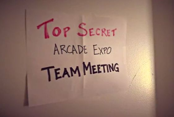 ArcadeExpoMeetingSign