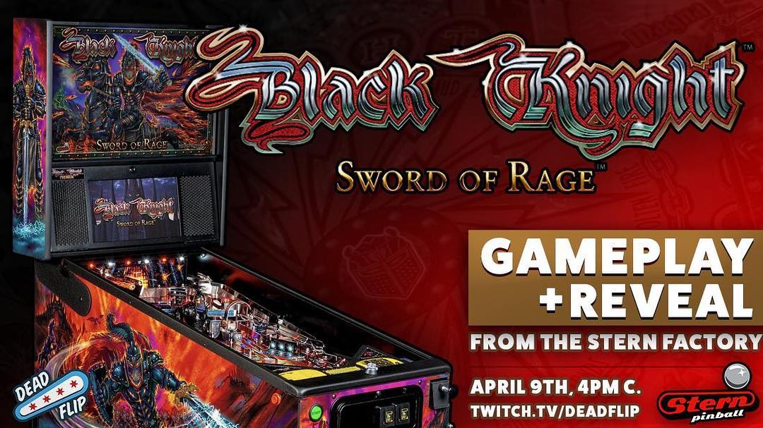 Appointment streaming: Black Knight Sword of Rage April 9, 2019 at 4PM