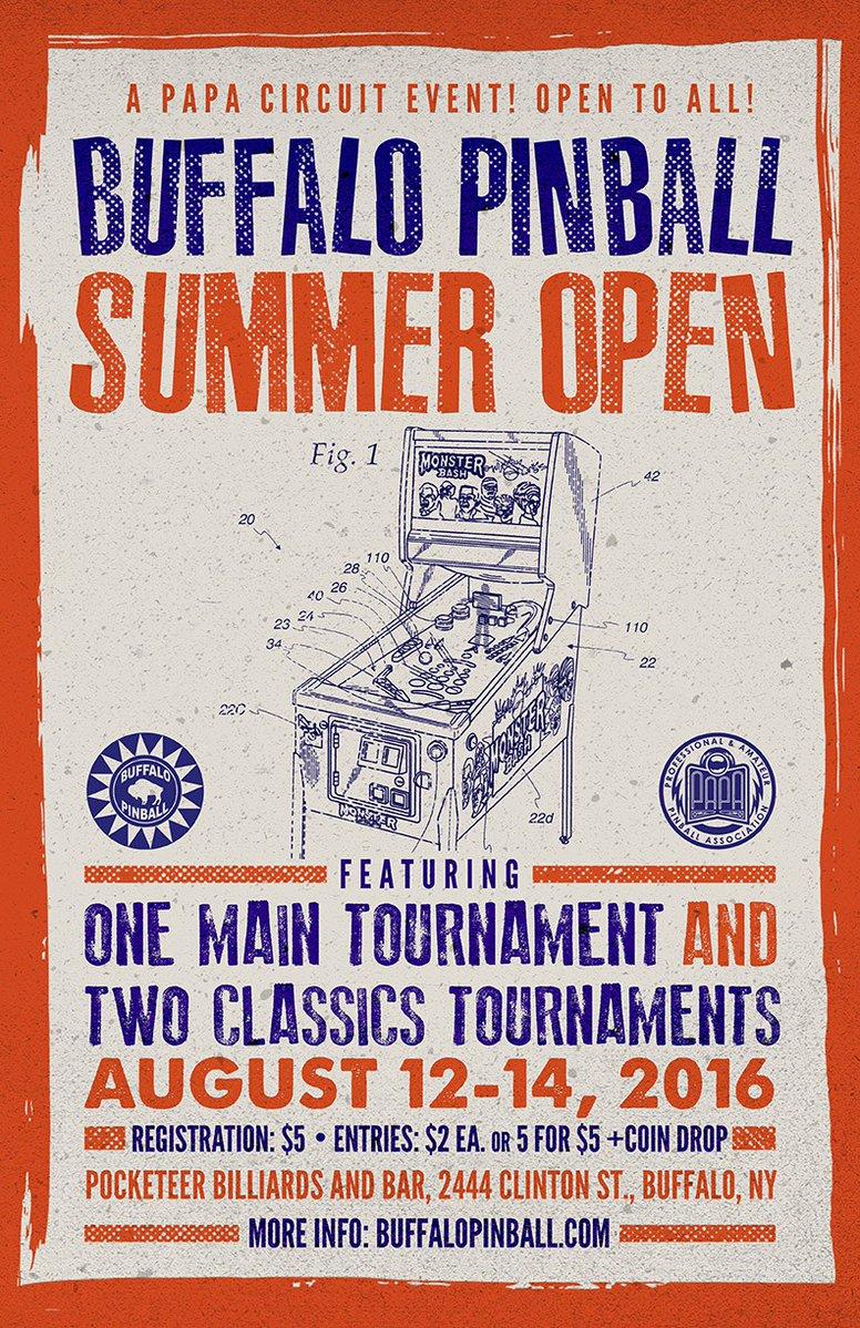 For the record: Buffalo Pinball Open 2016