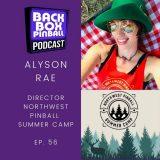 Backbox Pinball Podcast: Alyson Rae