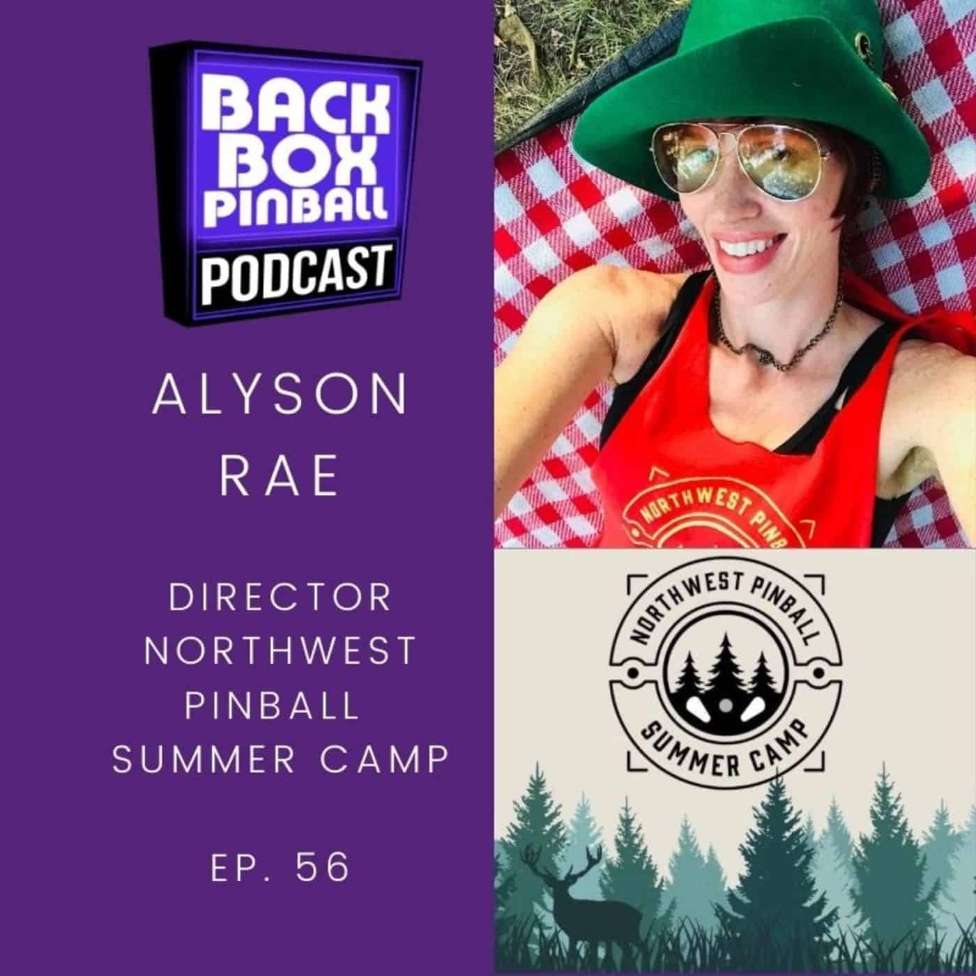 Backbox Pinball Podcast: Alyson Rae