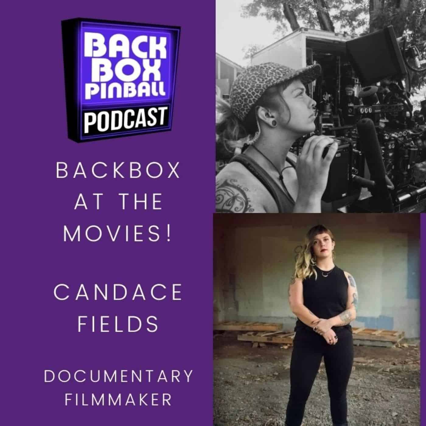 Backbox Pinball Podcast: Candace Fields