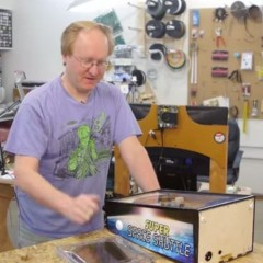 Ben Heck's Portable Pinball Machine