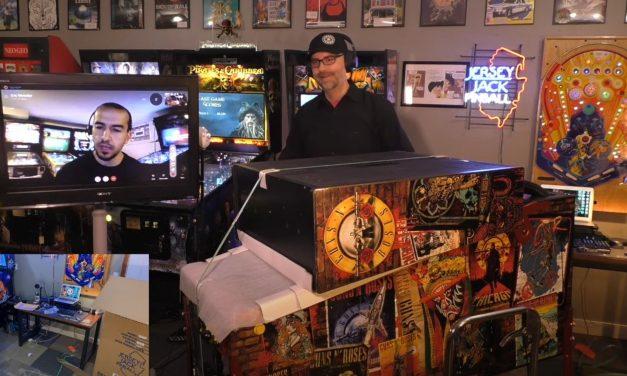 Guns N' Roses Pinball Machine Unboxing