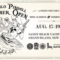 Buffalo Pinball Summer Open 2018 (August 17-19, 2018)