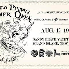 Buffalo Pinball Summer Open 2018 (August 17-19, 2018)