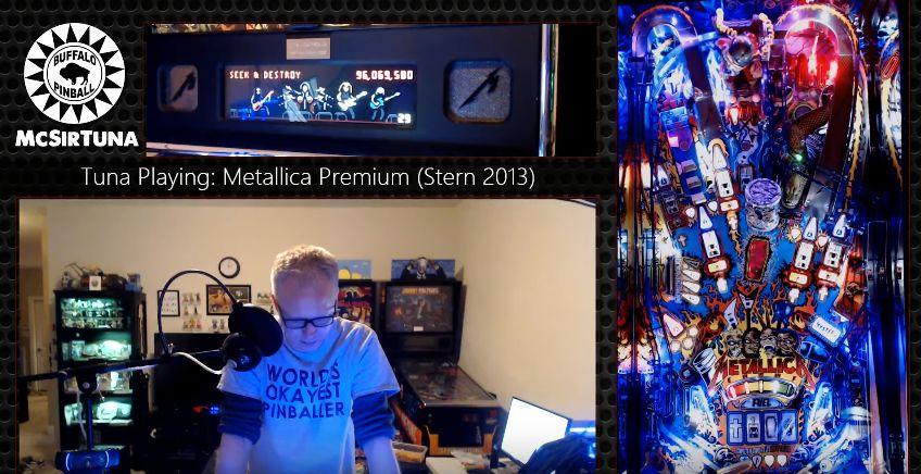 Pinball Mastery: Metallica
