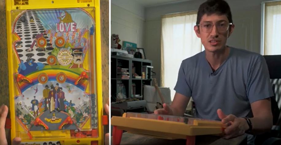 Experiencing Matthew's Toy Pinball Machine