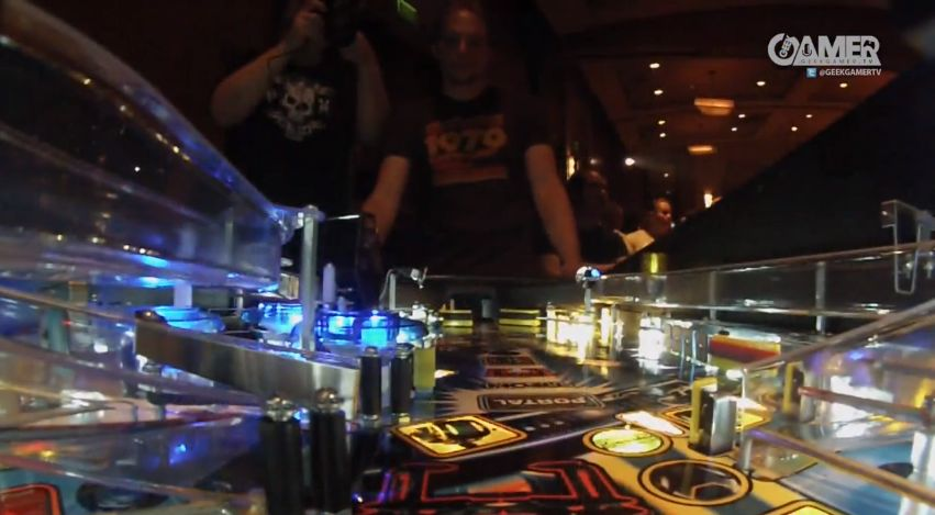 Cayle George plays TRON: Legacy at Pax Prime