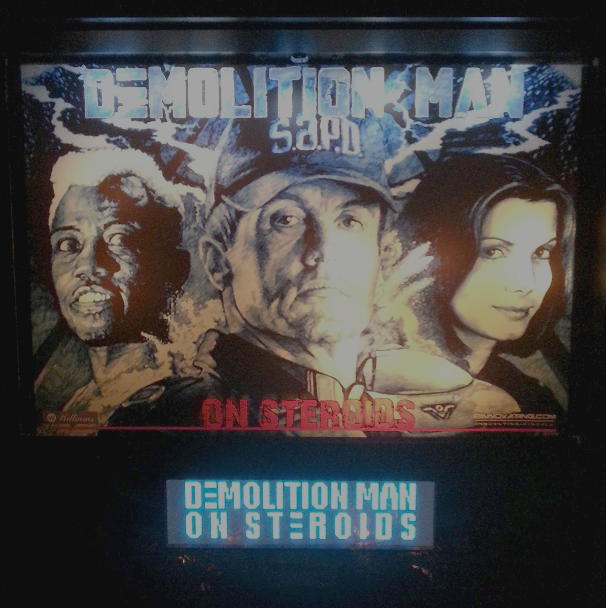 Demolition Man on Steroids updates