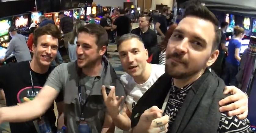 Dead Flip streaming at Texas Pinball Festival