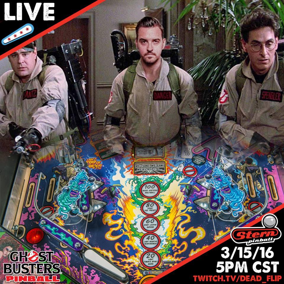 Dead Flip vs Ghostbusters Pinball