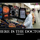 Buffalo Pinball on the Twitch Frontpage with Doctor Who