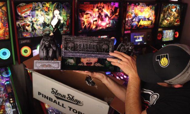 Elvira Pinball Topper Unboxing & Install