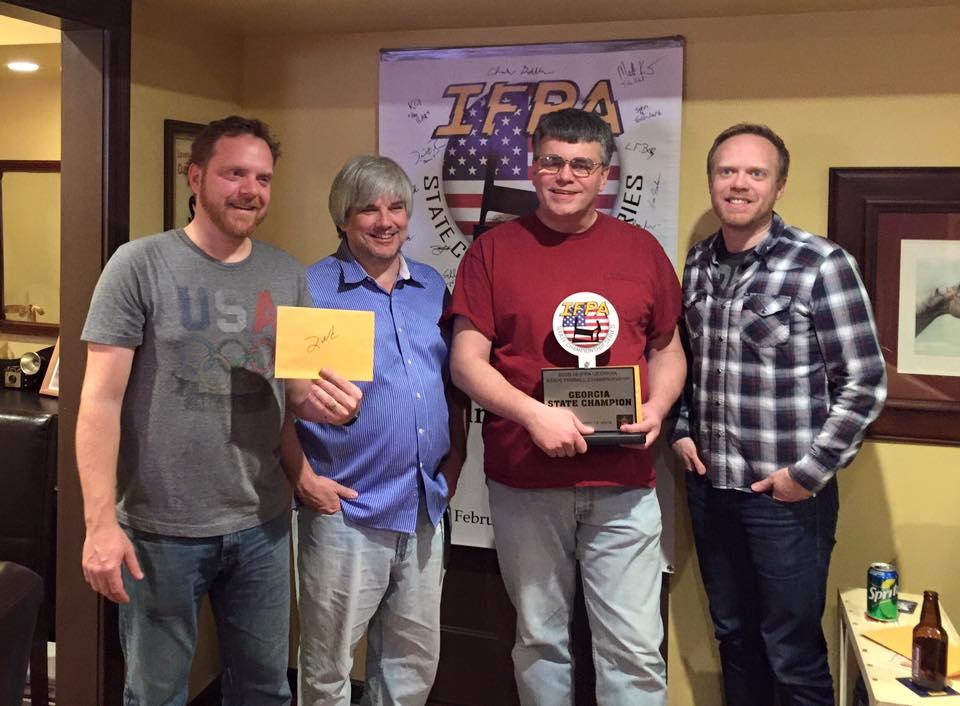 1st Eric Fisher - Georgia Champion, 2nd Mark Jarzewiak, 3rd Mark Kiefert, 4th Chris Compton