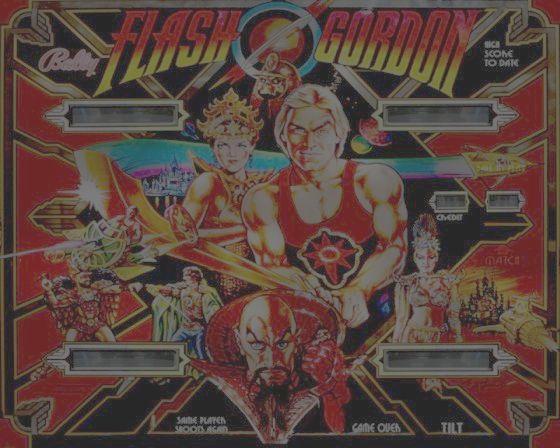 Flash Gordon Pinball, a very short story.