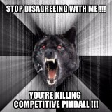 Pinball meme of the day: #ForumStatic
