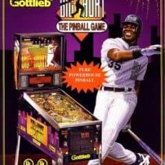Top sports-themed pinball machines by CaptNRetro: Frank Thomas: Big Hurt