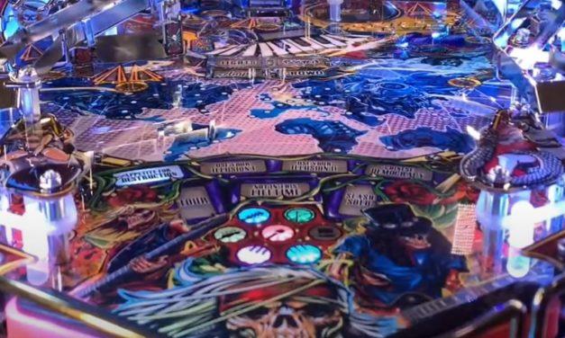 Guns N' Roses Pinball Gameplay
