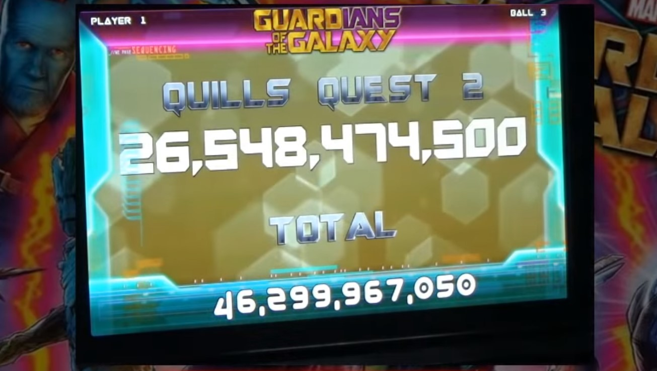 Guardians of the Galaxy: Max Points Demonstration