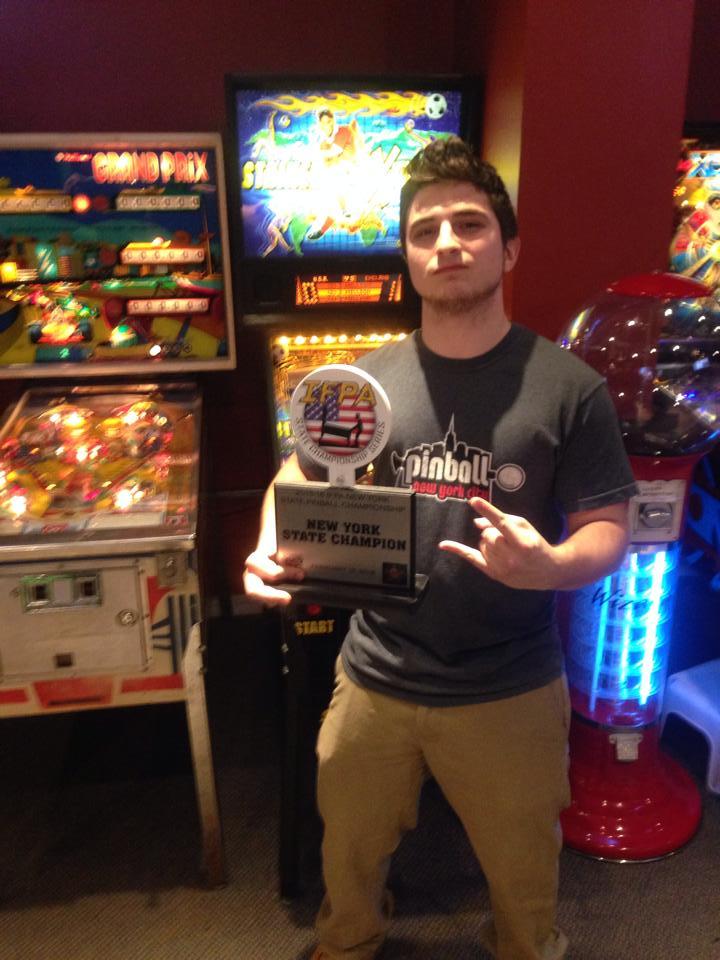 Greg Poverelli - New York Champion