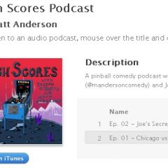 The High Scores Podcast
