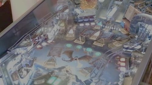 Some video of The Hobbit pinball