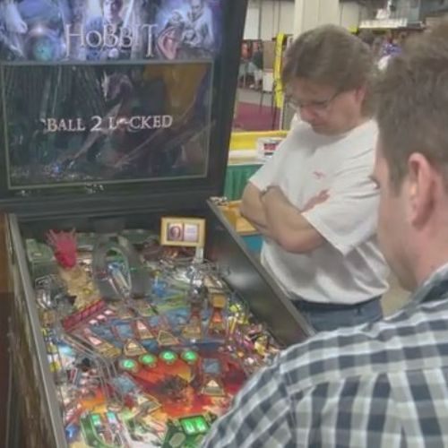 Five minutes of The Hobbit at Pinfest