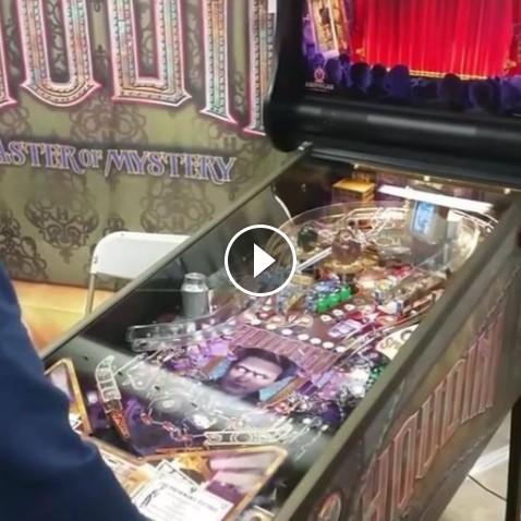 Pinball Pros(e) v0.6 | Houdini at Pinfest