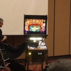 Houdini at Texas Pinball Festival