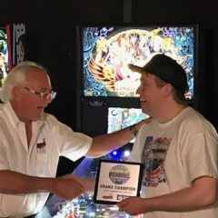 Raymond Davidson becomes the new top ranked pinball player in the world!