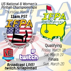 National, Women's and PinMasters Championship Streaming!