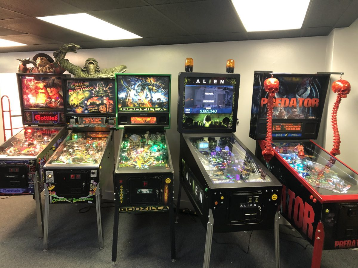 Rare Horror Pinball Machines Line Galloping Ghost's New Arcade