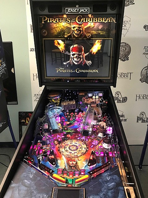 Jersey Jack Pinball's Pirates of the Caribbean Prototype Gameplay
