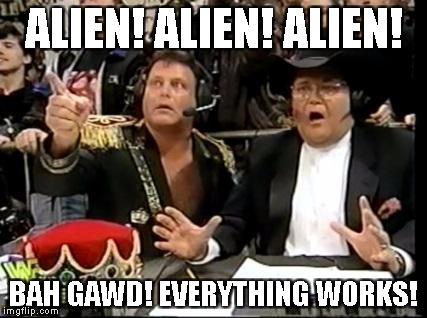Alien Pinball. Everything works.