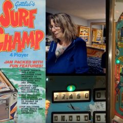 Kathy Gagno and Surf Champ