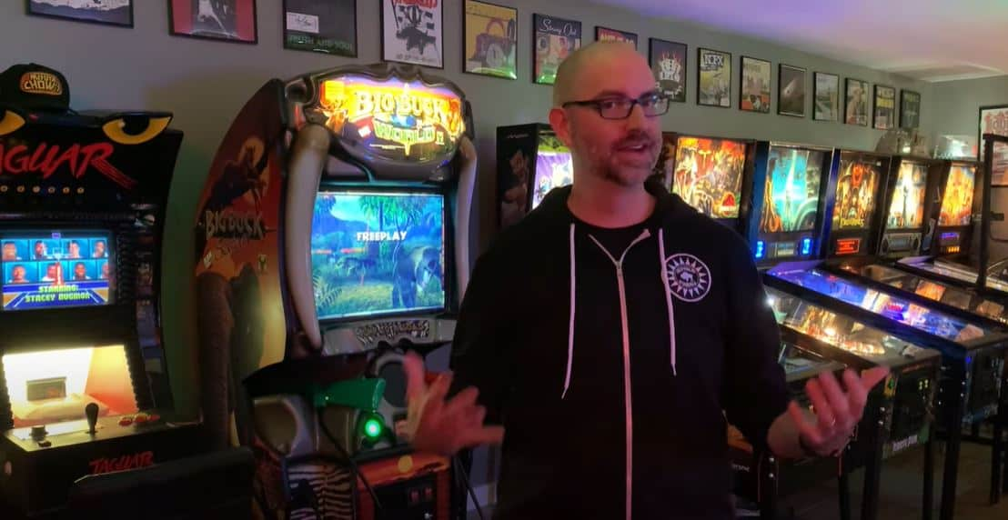 Kevin Manne Home Arcade Tour 2020