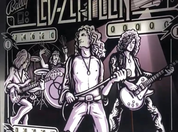 Led Zepplin Pinball (Bally Freedom)