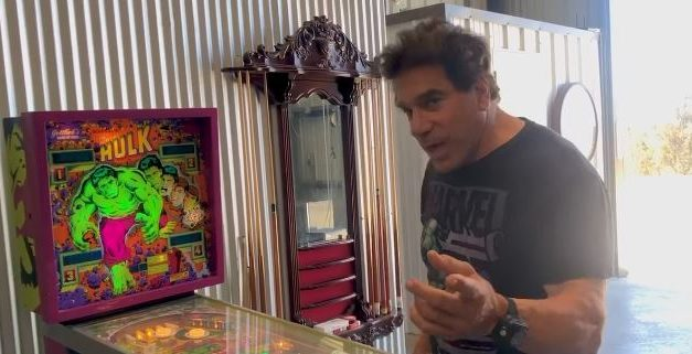 The Incredible Hulk on Hearing The Incredible Hulk Pinball Game