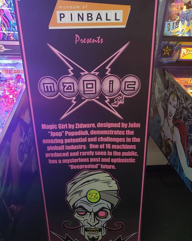Magic Girl display at INDISC
